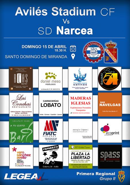 cartel narcea jornada31