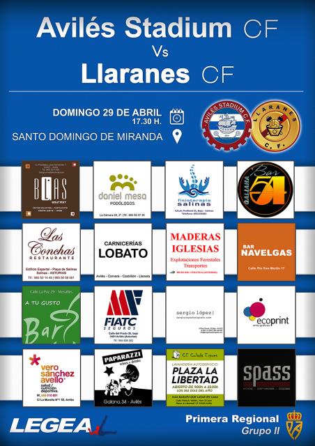 Cartel Stadium Llaranes
