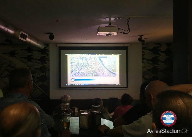 Presentación del spot en Bar Félix de una anterior campaña