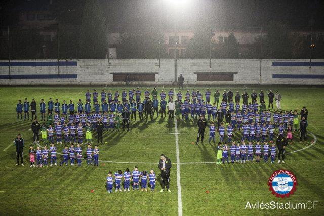 Equipos de la escuela de fútbol