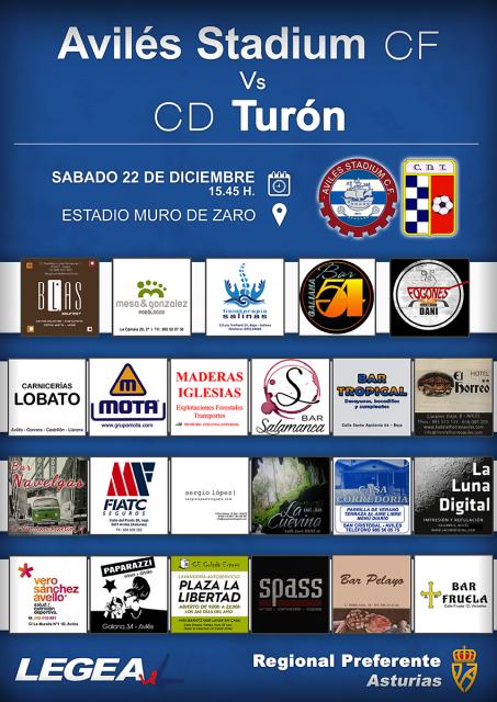 Cartel: Avilés Stadium - Turón