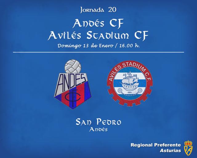 Horario: Andés - Avilés Stadium