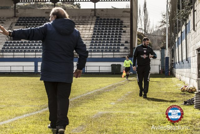 Foto previa: Candás - Avilés Stadium