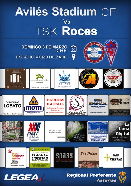 Cartel: Avilés Stadium - Roces