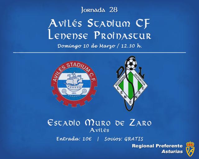 Horario: Avilés Stadium - Lenense