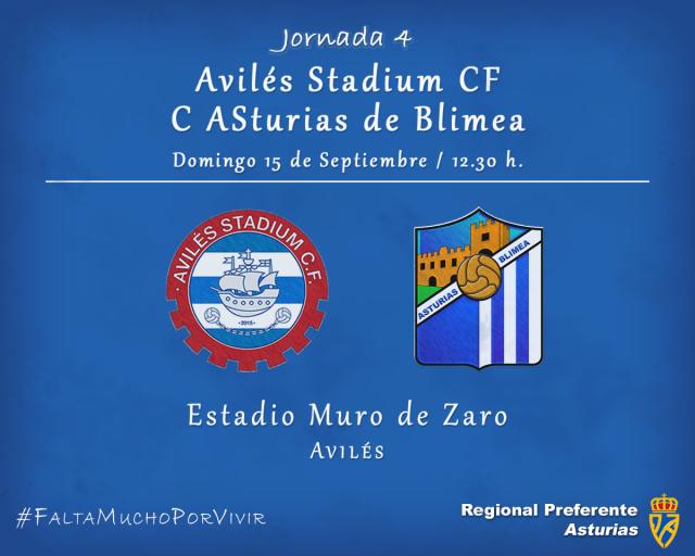 Horario: Avilés Stadium - Asturias de Blimea