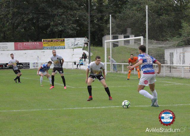 Crónica Unión Comercial - Avilés Stadium