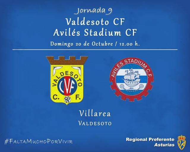 Horario: Valdesoto - Avilés Stadium