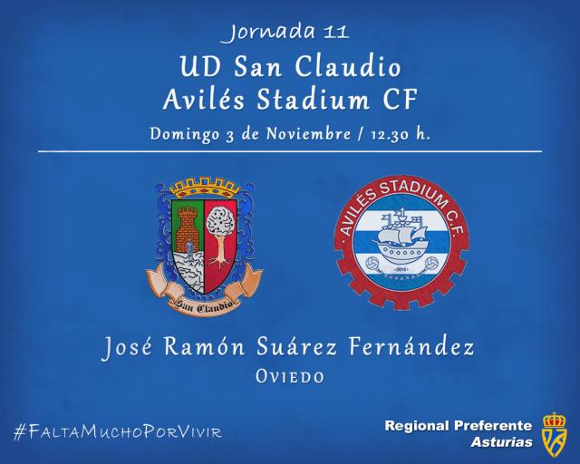 Horario: San Claudio - Avilés Stadium