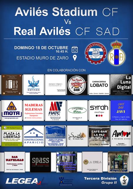 Cartel: Avilés Stadium - Real Avilés
