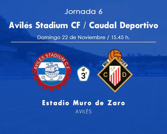 Horario: Avilés Stadium - Caudal Deportivo